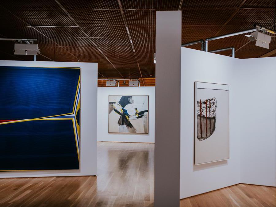 Alison and Peter Smithson, Painting & Sculpture of a Decade '54-64, Tate Gallery, London, 1964. Ricostruzione realizzata per Art on Display. 1949-69, presso il Calouste Gulbenkian Museum, Lisbona (Pedro Pina)