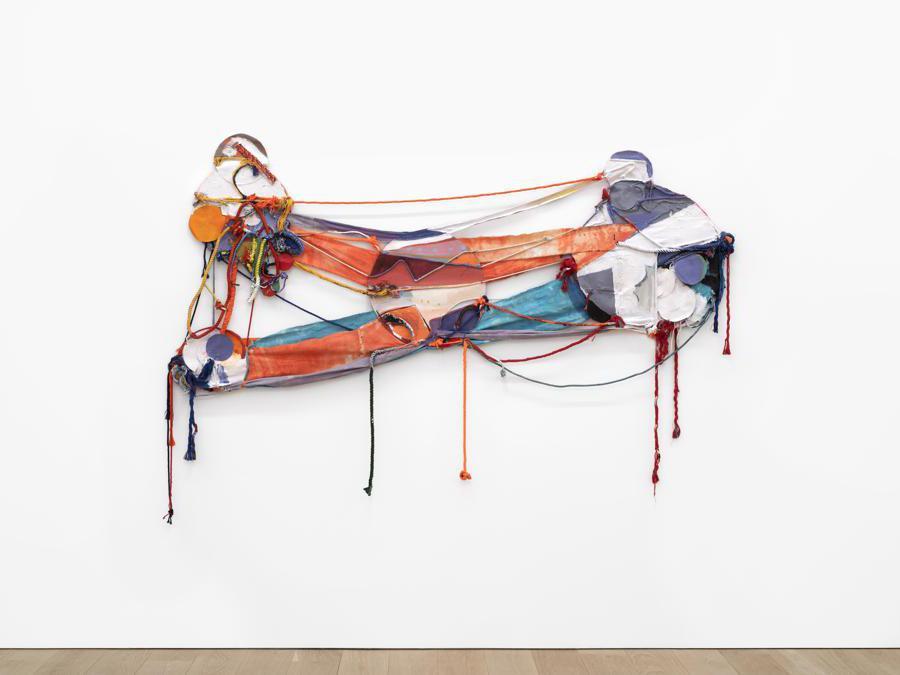 Rachel Eulena Williams «Orange Blood», 2020 per gentile concessione di Canada e dell'artista