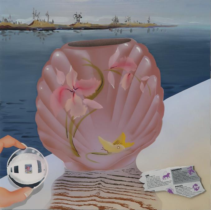 Melissa Brown «January Predictions» 2021, per gentile concessione della    Derek Eller Gallery