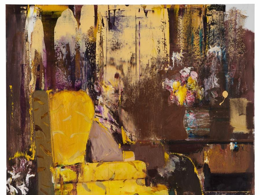 Adrian Ghenie «Pie Fight Interior», est. £2.4-2.8 million