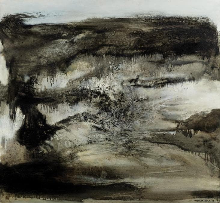 Zao Wou-Ki, «12.12.68>,1968, est. €1-1.5million