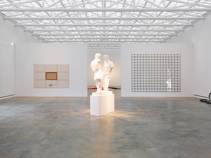 Mostra Arte Povera aperta dal 2018, Magazzino italian Art, Cold Spring, New York, foto di Alexa Hoyer, cortesia di Magazzino