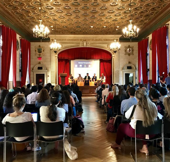 Sala Conferenza dell'Italian Academy presso la Columbia University di New York
