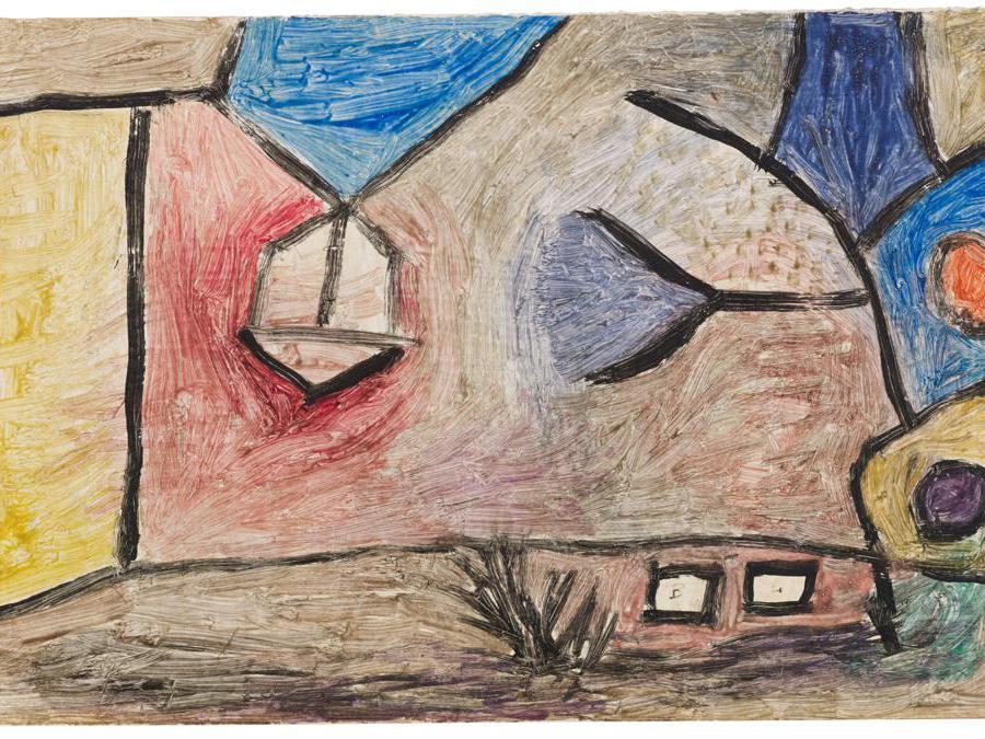 Paul Klee, Landschaft B. L., stima 70-90.000 euro, Courtesy Sotheby's
