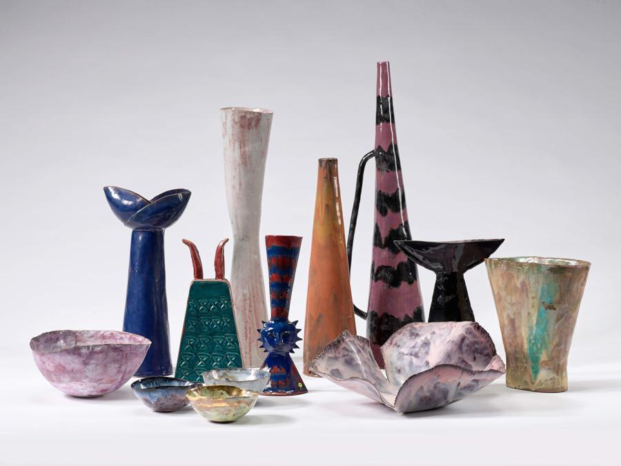 Melotti, gruppo di ceramiche
