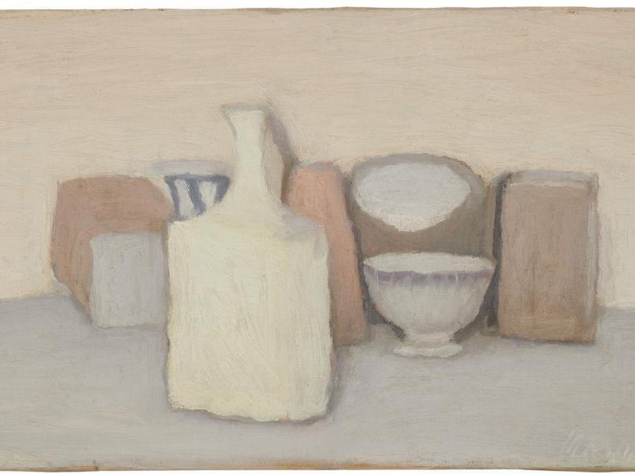 Giorgio Morandi, Natura morta, stima 600-800.000 euro, Courtesy Sotheby's