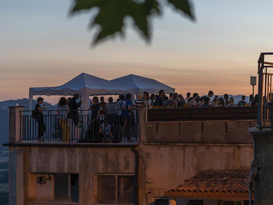 Festa di inaugurazione di Straperetana il 6 luglio
