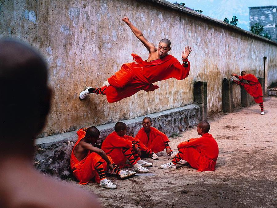 I monaci Shaolin di Steve McCurry