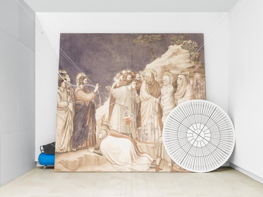 Romeo Castellucci - Socìetas, Uso umano di esseri umani, 2004, veduta dell'installazione, Quadriennale d'arte 2020 FUORI, courtesy Fondazione La Quadriennale di Roma, foto DSL Studio