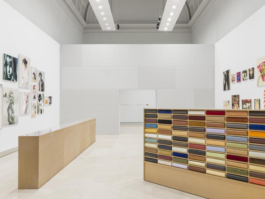 Maurizio Vetrugno, veduta dell'allestimento, Quadriennale d'arte 2020 FUORI, courtesy Fondazione La Quadriennale di Roma, foto DSL Studio