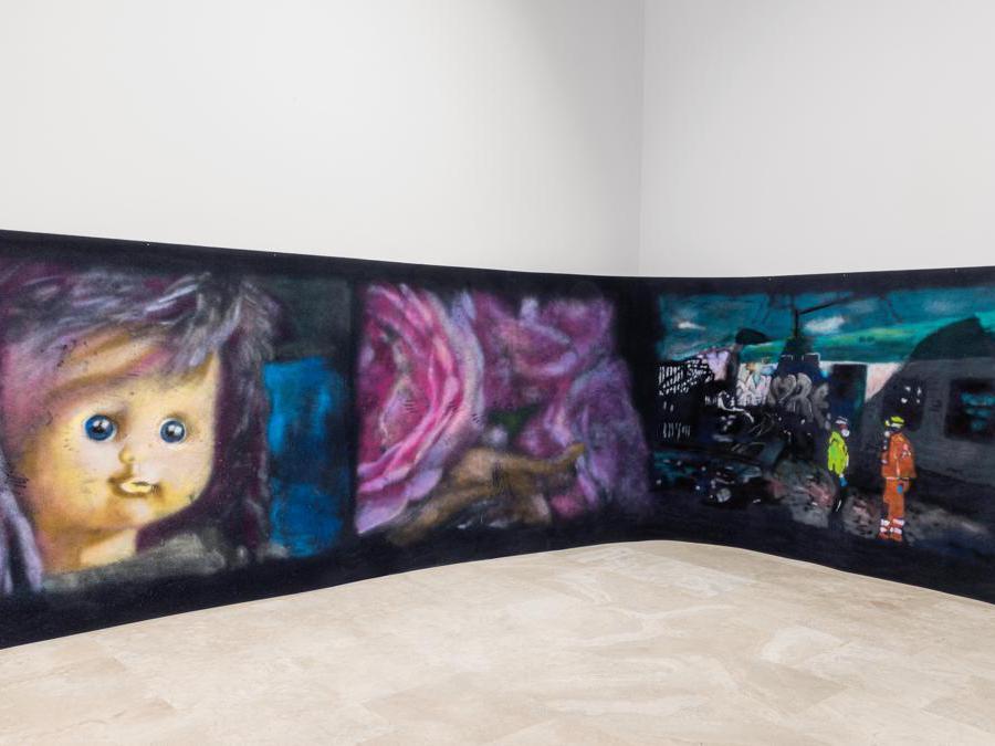 Cuoghi Corsello, veduta dell'allestimento, Quadriennale d'arte 2020 FUORI, courtesy Fondazione La Quadriennale di Roma, foto DSL Studio