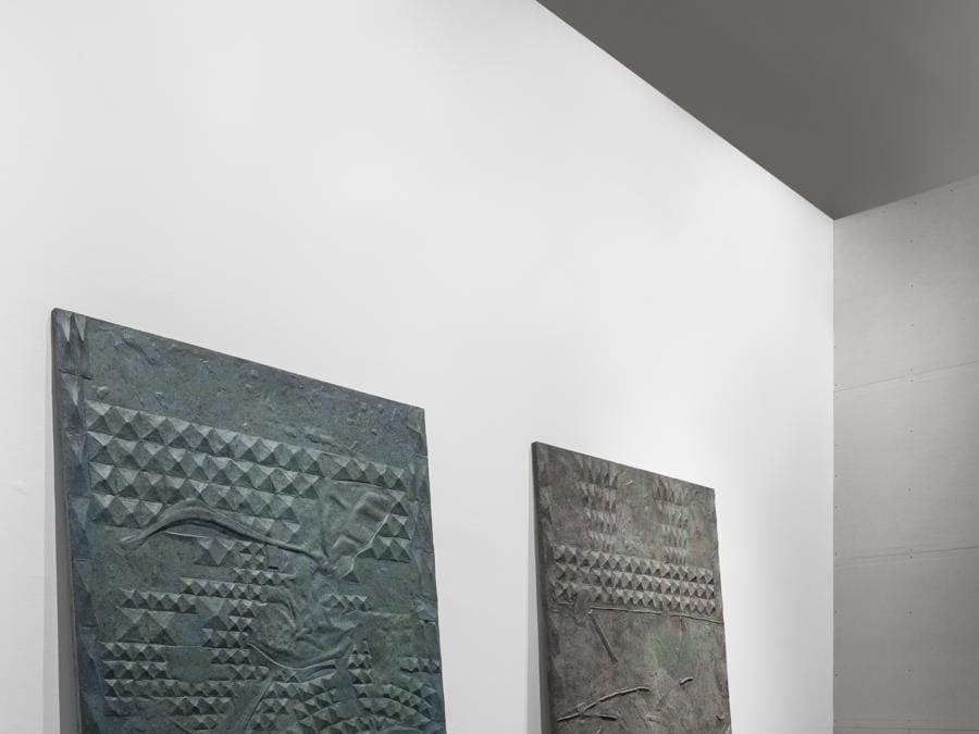 Giuseppe Gabellone, veduta dell'allestimento, Quadriennale d'arte 2020 FUORI, courtesy Fondazione La Quadriennale di Roma, foto DSL Studio