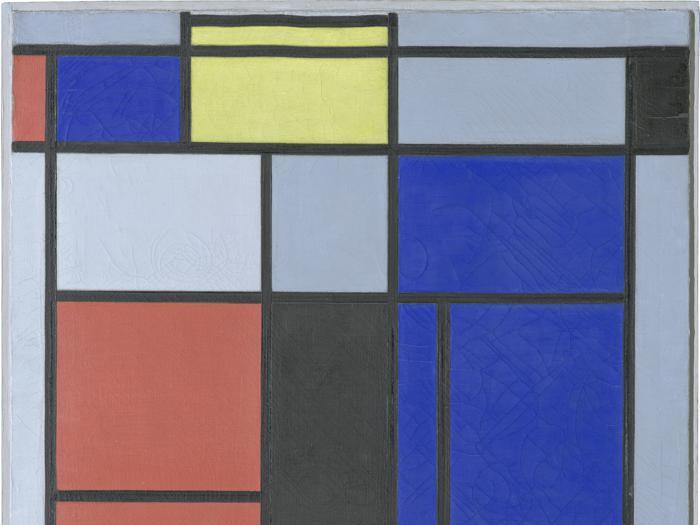 Le opere di Mondrian sotto esame