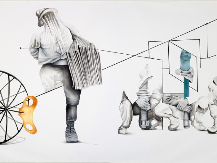 Le opere in mostra a CI Contemporary Istanbul