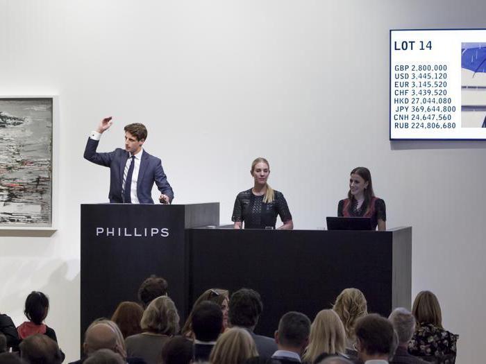Le opere scambiate da Phillips