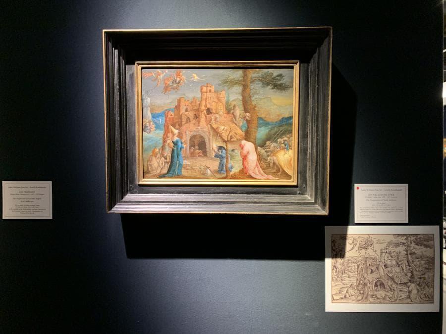 Adam Williams Fine Art, Jen Wellness De Cock, La tentazione di Sant'Antonio