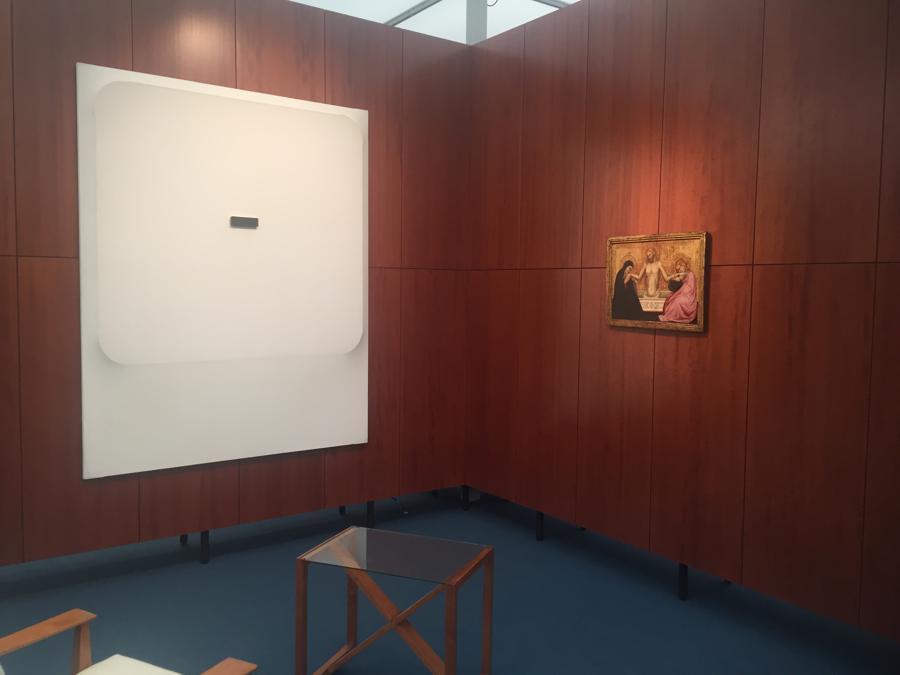 Stand Hauser & Wirth / Moretti Fabio Mauri / Jacopo di Cione