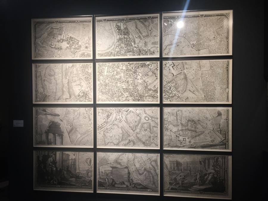 Daniel Crouch: mappa settecentesca di Roma