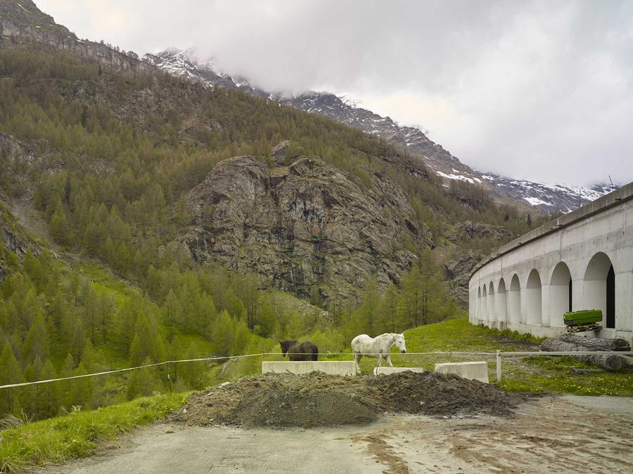 """Mattia Paladini, """"Lockdown in Valle D'Aosta"""", 2020. Courtesy: MiBACT/DGCC, Triennale Milano, MUFOCO."""