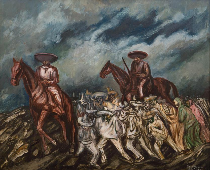 10369 lo 37 José Clemente Orozco, Acordadas y zapatistas,