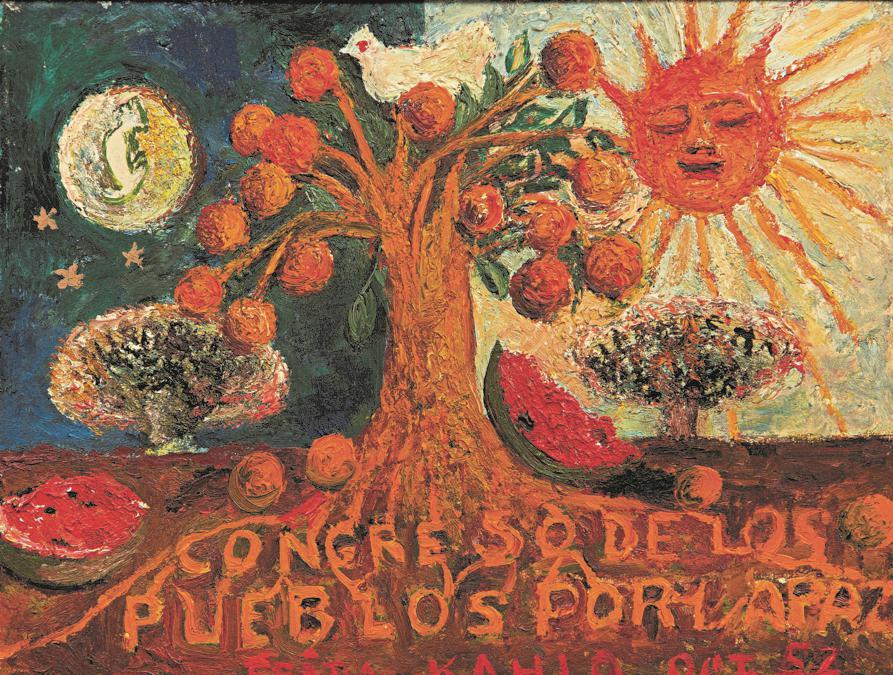 10368 Lot 1006 - Frida Kahlo, Congreso de los pueblos por la paz