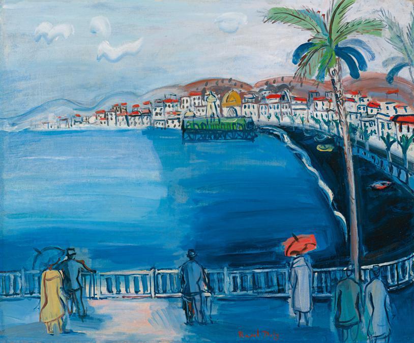10369 lot 24 Raoul Dufy, Nice, La Baie des Anges