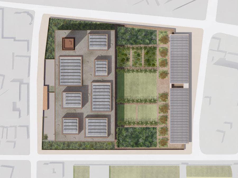 Roof Plan © Adjaye Associates