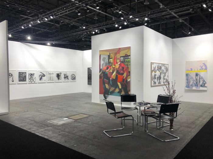 Tra gli stand di Art Genève