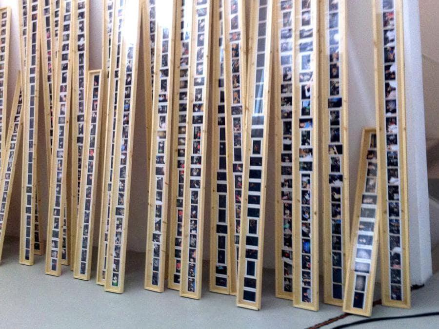 Nico Vascellari, Lago Morto, 2011, veduta della mostra presso Fondazione Pier Luigi e Natalina Remotti, Courtesy dell'artista