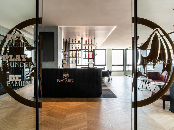 Bacardi e Sperlari, la storia di un brand nei nuovi uffici