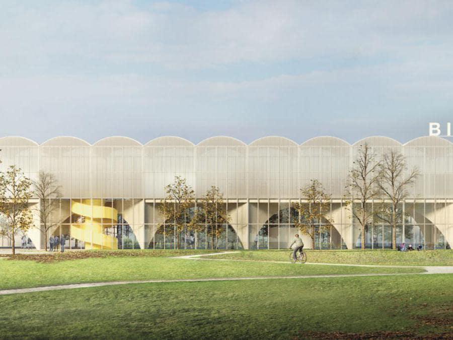 Il disegno per la nuova biblioteca che sorgerà a Lorenteggio, immaginato da un raggruppamento guidato da Urtzi Grau Magaña, prevede un edificio sostenibile e polifunzionale. Gli archi della struttura a campata sono pensati per funzionare come infrastruttura urbana, aprendosi sull'area pubblica antistante