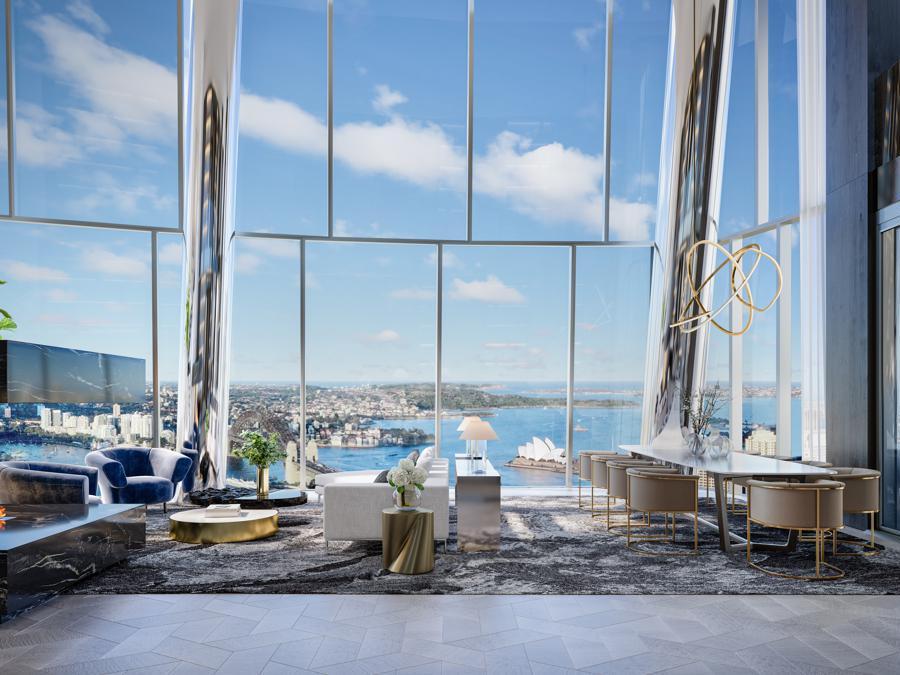 Sydney, One Barangaroo ($9.5 million AU)