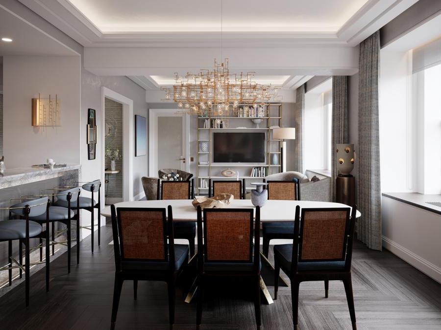 The Towers of the Waldorf Astoria (interni)