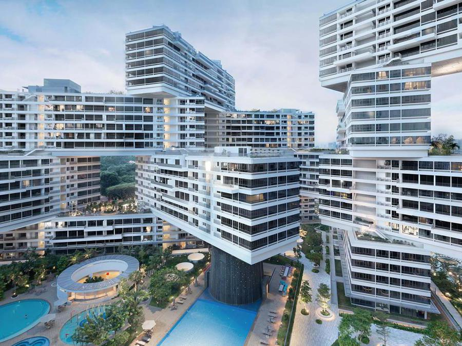 The Interlace by OMA e Ole Scheeren (Credit Iwan Baan)