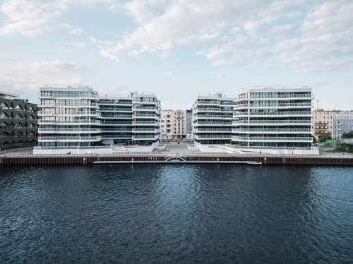 Residenziale.  WAVE waterside living berlin, Berlin, Germany