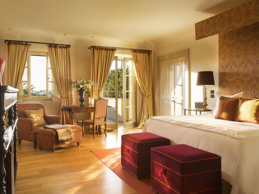 La junior suite del Rosewood Castiglion del Bosco