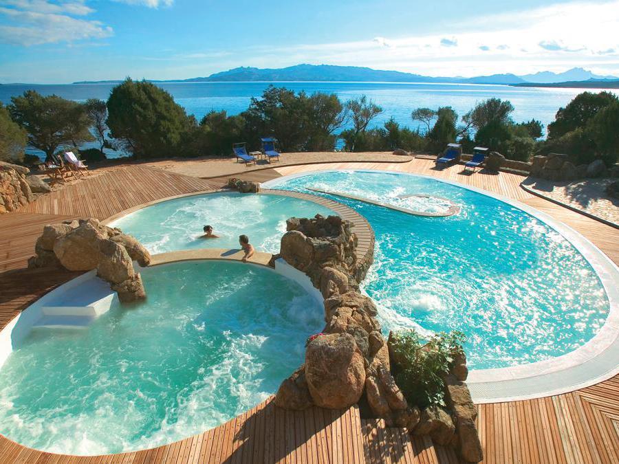 Hotel Capo d'Orso, piscina thalasso
