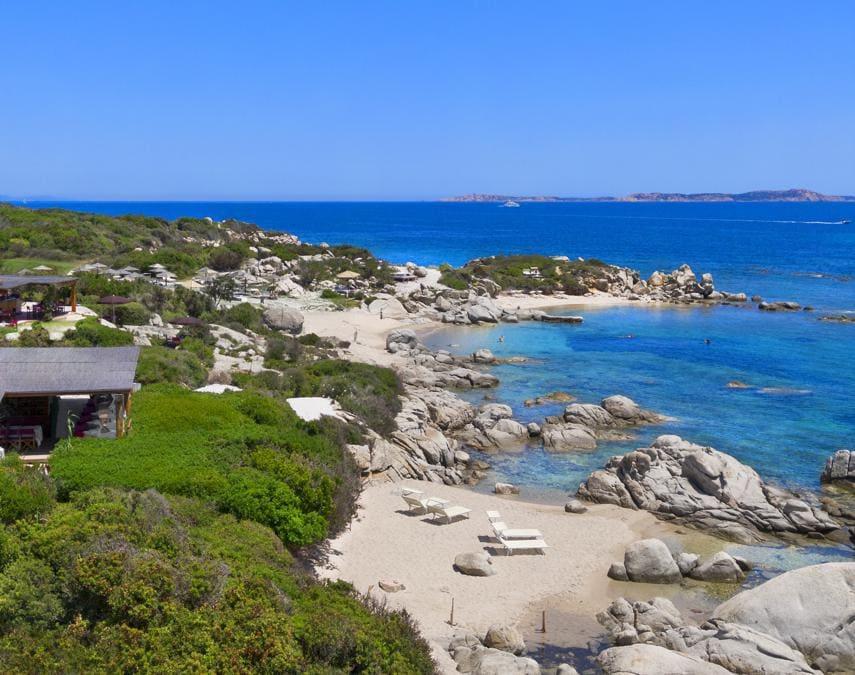 Resort Valle dell'Erica, spiaggia caletta Li Zini