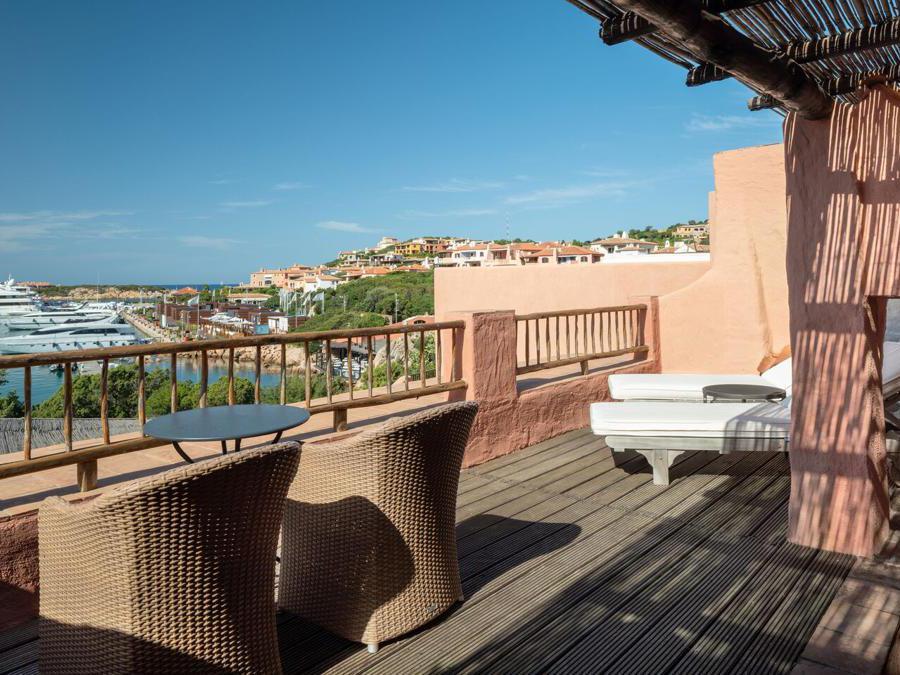 Cervo hotel, suite terrace