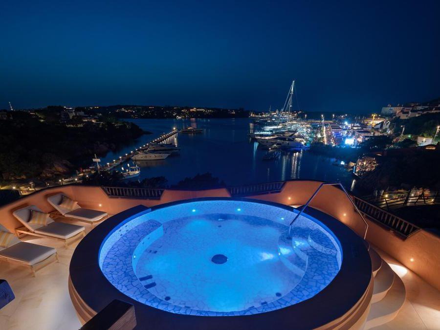 Cervo hotel, presidential suite marina view
