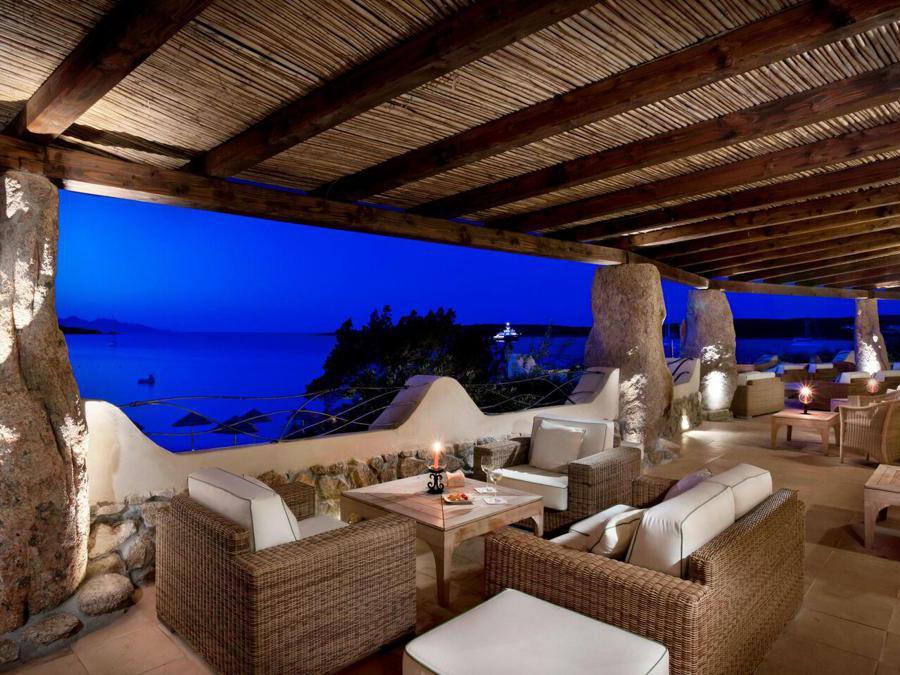 Hotel Pitrizza, bar terrace