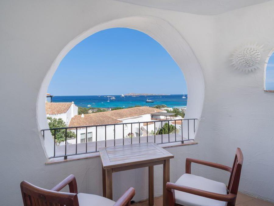 Hotel Romazzino, room terrace sea view