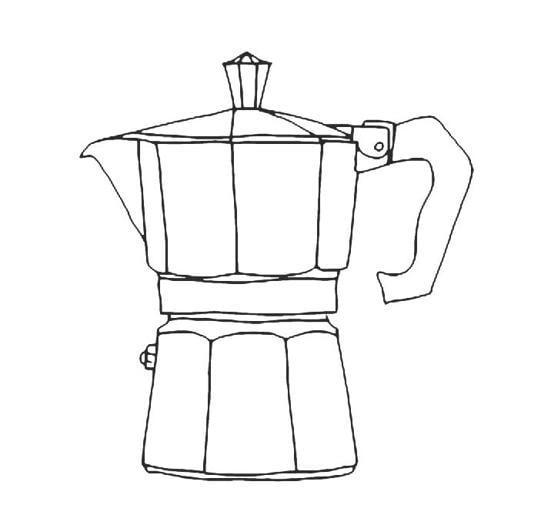 Le caffettiere dei maestri