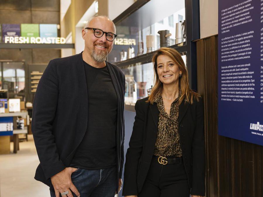 Gloria Bagdadli e Giulio Iacchetti (Credit Giulio Iacchetti)