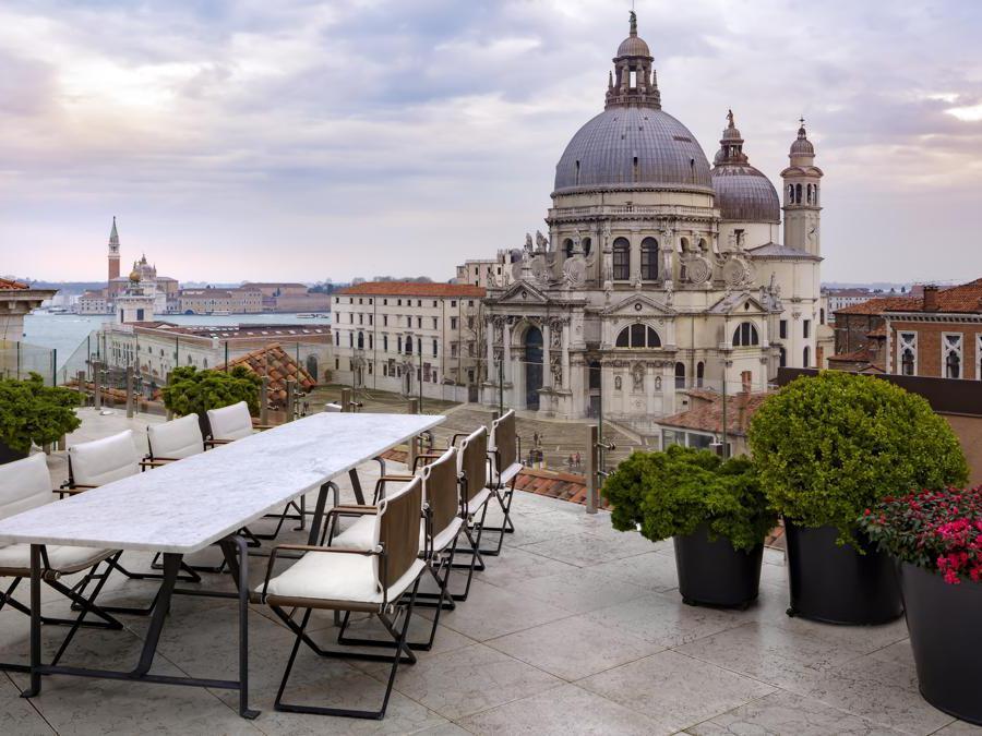 The Gritti Palace, Venezia. The Redentore Terrazza Suite Terrace