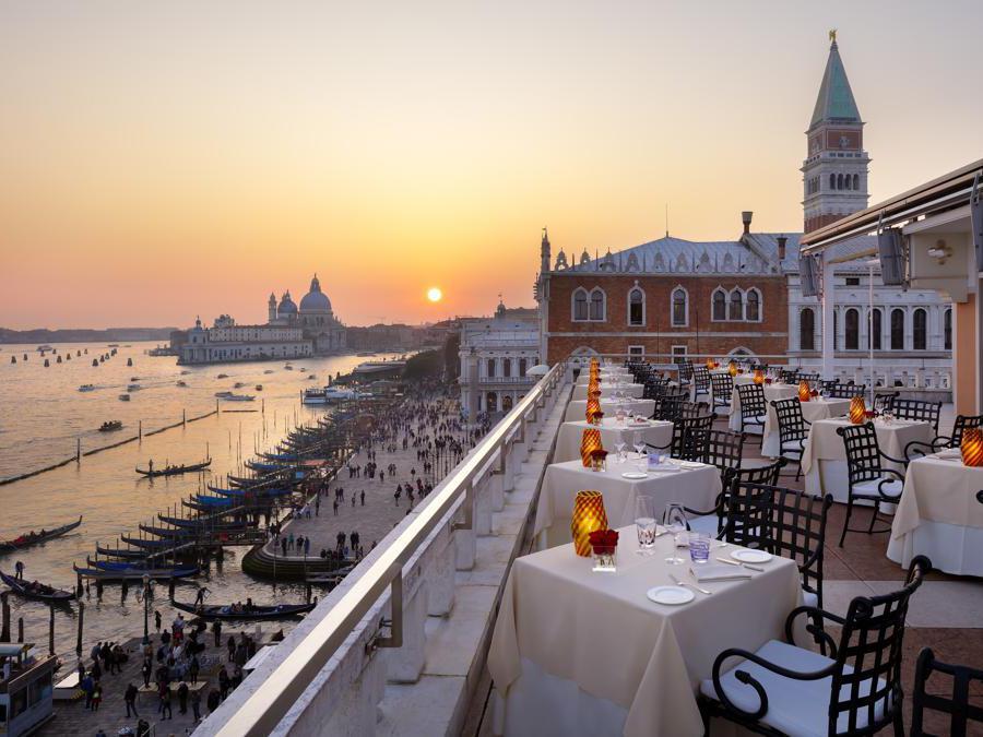 Hotel Danieli, Venezia. Restaurant Terrazza Danieli