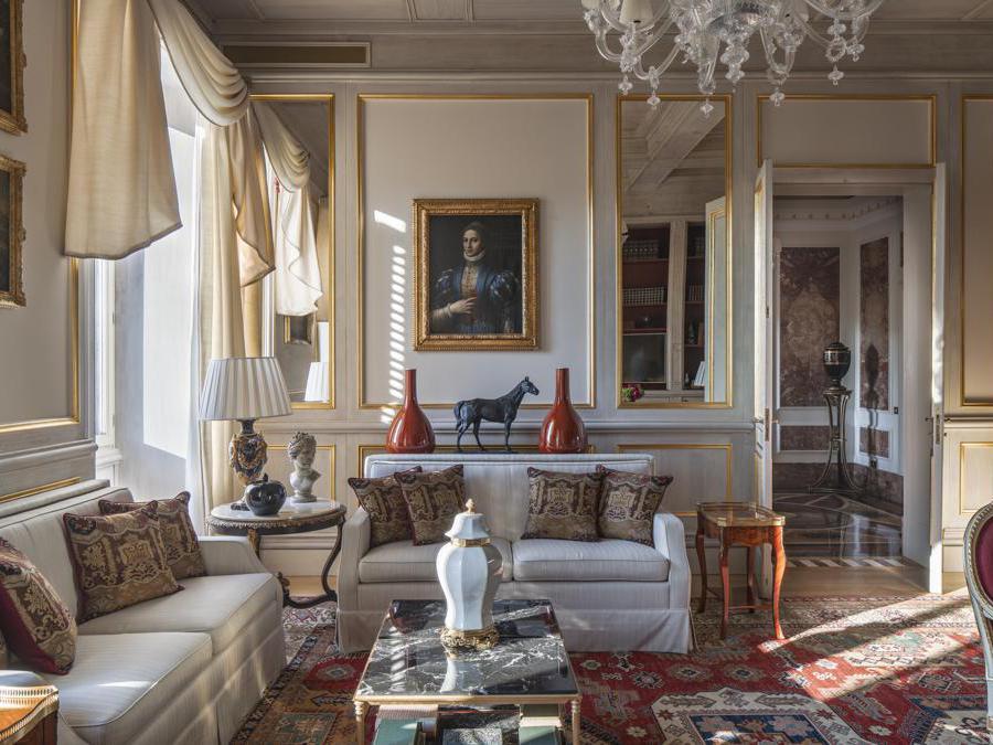 St Regis Roma. Royal Suite