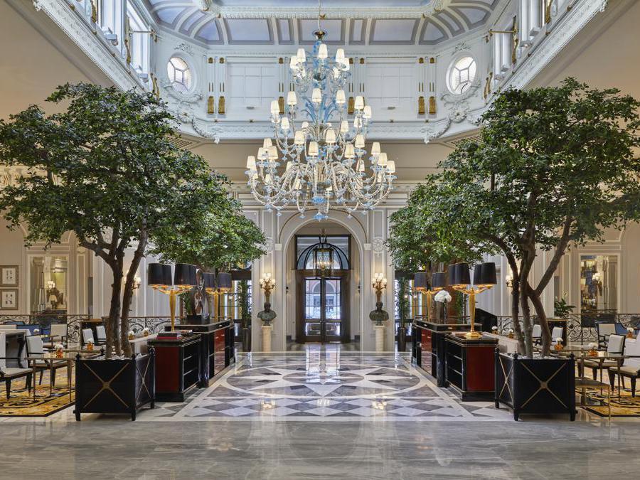St Regis Roma. Lobby