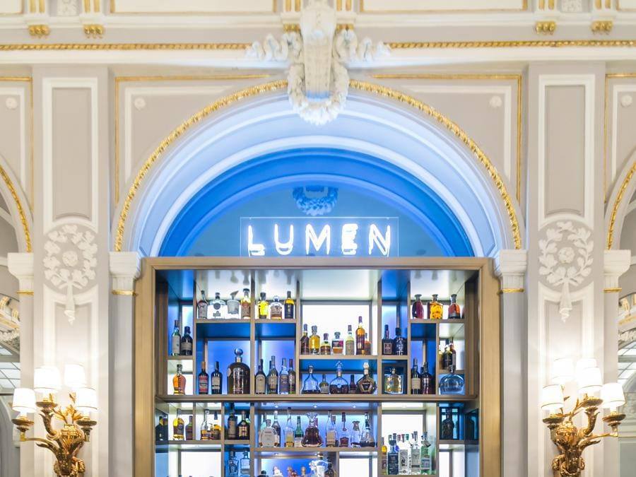 St Regis Roma. Lumen, Cocktails & Cuisine
