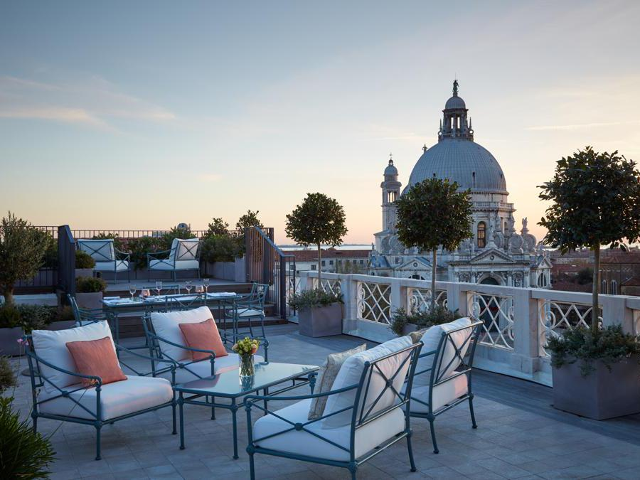 The St Regis, Venezia. Santa Maria Suite - Terrace